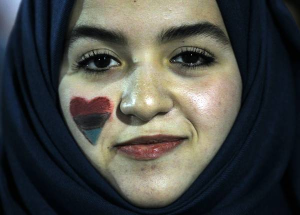 Tatuaggio d'amore: una donna e la sua liberta', a Tripoli -