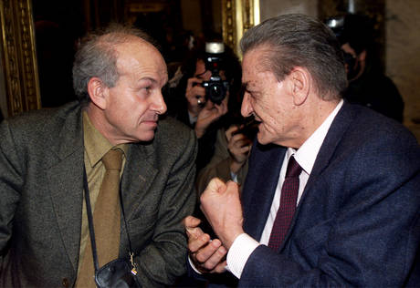 Fausto Bertinotti e Mino Martinazzoli del 31 gennaio 2000 -