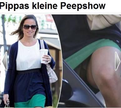 Pippa Middleton, la piu' bella del reame -