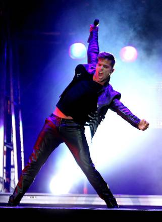 Ricky Martin in concerto a Montevideo -
