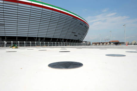 Juve: Stadio pioneristico benvenuti a casa -