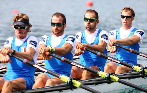 Canottaggio a Bled, in Slovenia: LM4x, vincono gli azzurri -