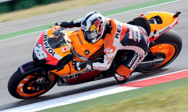 Moto Gp, Stoner su Honda il piu' veloce in prova a Misano -