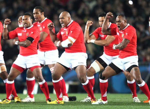 Mondiali rugby, la danza della squadra di Tonga -