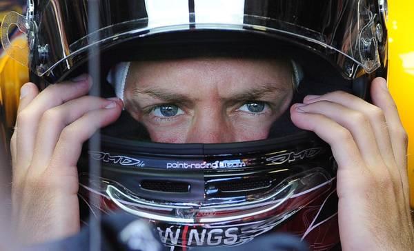 F1: Sebastian Vettel, campione del mondo, prova per Gp Italia -