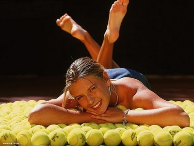 Tenniste Sex: Maria Sharapova -