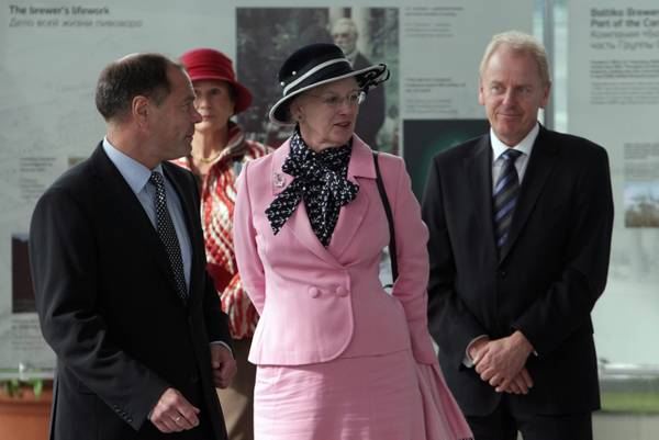 Margherita II di Danimarca, in visita a San Pietroburgo -