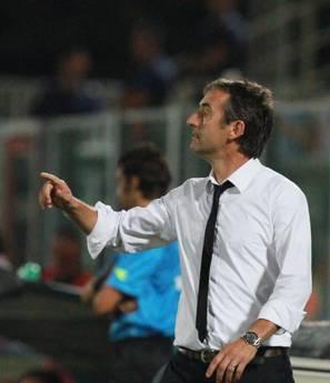 Cesena-Napoli: Il nuovo allenatore del Cesena Marco Giampaolo -