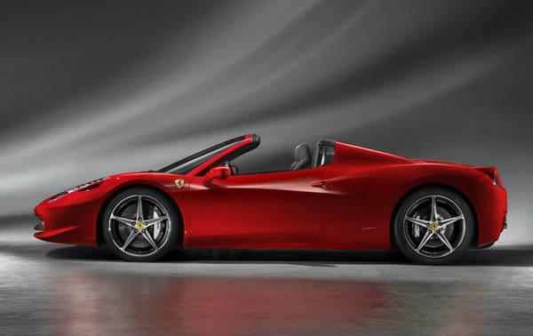 Riscossa Fiat: Ferrari 458 Spider -