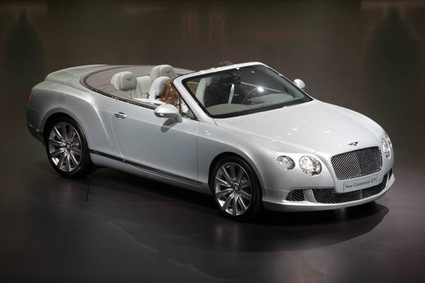 Bentley New Continental GTC -