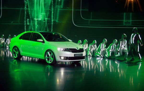 Skoda Mission L. - concept car -