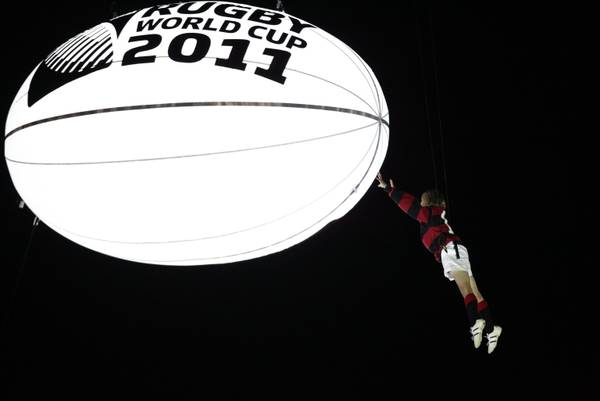 Mondiali di rugby a Auckland, un momento dell'inaugurazione