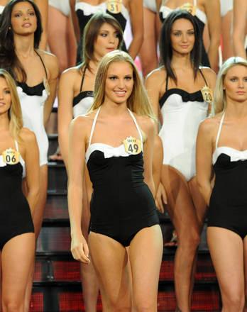 Miss Italia in bianco-nero e poi colore -