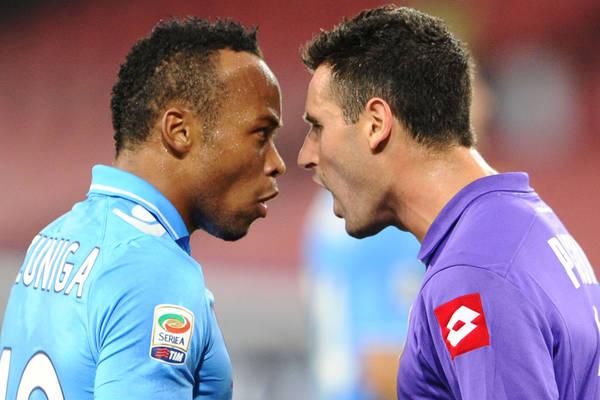 Napoli-Fiorentina 0-0, viola ben messi in campo -