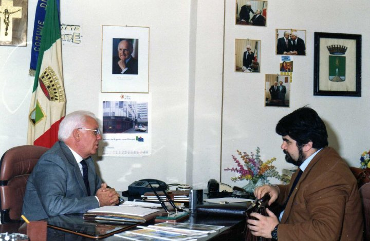 Antonio Iorio intervistato dal nostro editore Giuseppe Piccolo - 1995 -