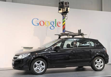 L'auto di Google Street View -