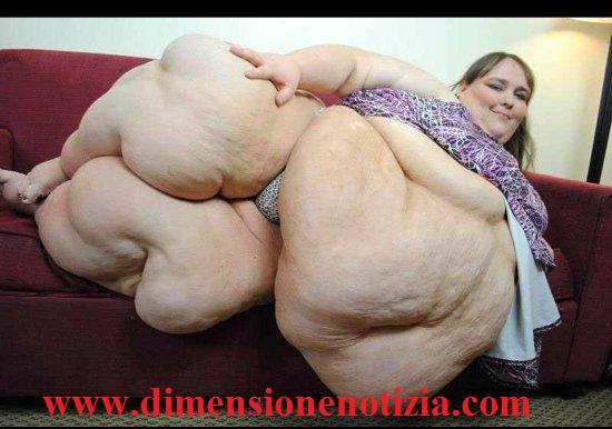 La donna più grassa al mondo - Susanne Eman -