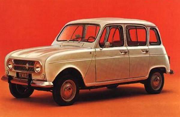 Renault 4, l'auto in jeans compie 50 anni -