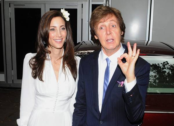 Paul McCartney sposo a Londra. Terze nozze per l'ex Beatle, dice si' a Nancy Shevell -