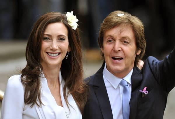 Paul McCartney sposo a Londra. Terze nozze per l'ex Beatle, dice si' a Nancy Shevell -