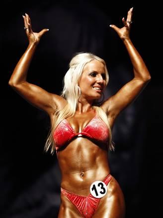 L'olandese Gerritdina nel Mondiale di Bodybuilding a Bangkok -