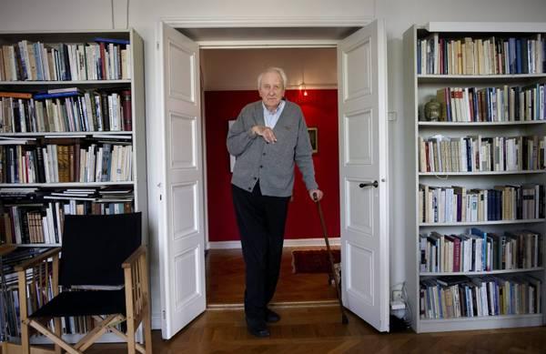 Il premio Nobel per la Letteratura, lo svedese Tomas Transtromer -