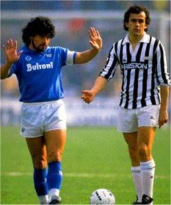 Storica: Maradona - Platini