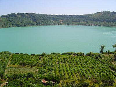 Lago d'Averno Pozzuoli - Napoli -