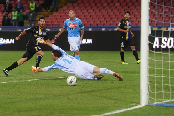 Napoli-Parma 1-2 -