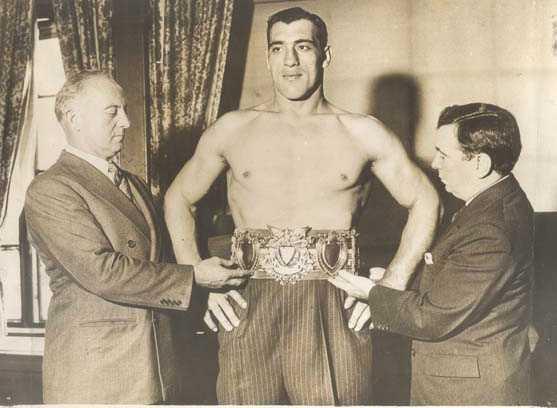 Carnera campione del mondo 1933 -