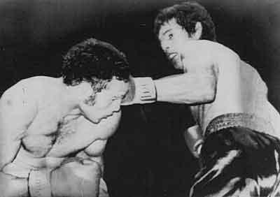 Nel 1970, al palasport di Roma, Carlos Monzon campione del mondo -
