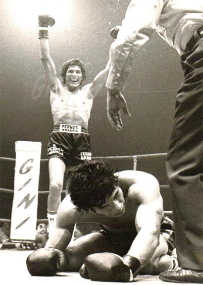 Nel 1970, al palasport di Roma, Carlos Monzon campione del mondo mette ko Nino Benvenuti -