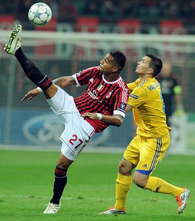 Champions, Milan-Bate Borisov 2-0 -