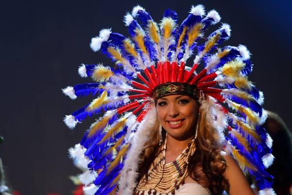 Vanessa, Miss Brasile, al Globe international di Tirana