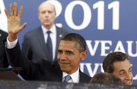 Obama e Sarkozy al G20