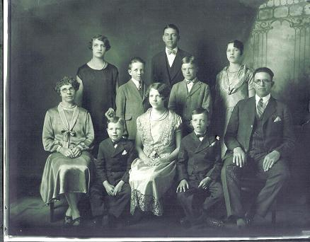 Joseph Smith fondatore dei Mormoni - Joseph Smith Stucki Famiglia - 1925