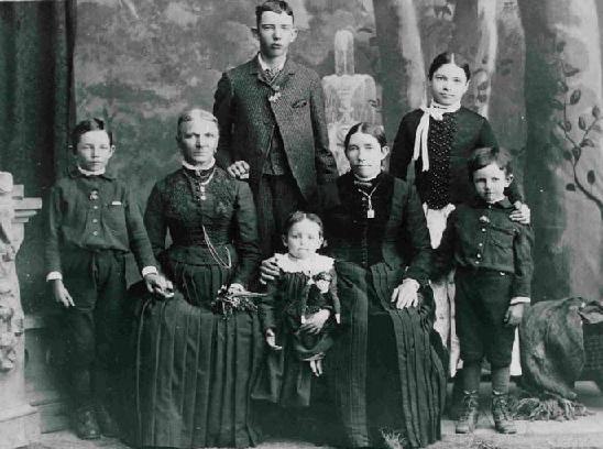JU Stucki familiari - circa 1888
