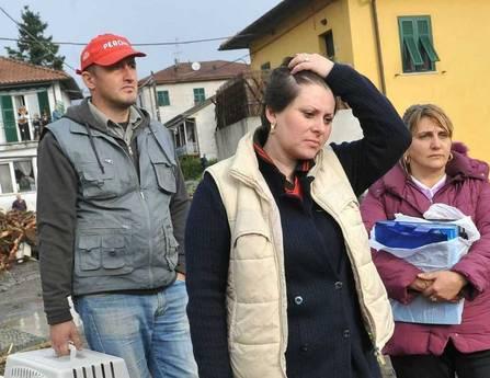 L'alluvione di Genova la disperazione