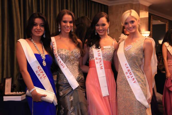 Finaliste a Londra di Miss Mondo 2011