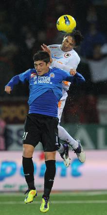 Novara perde 2-0 contro la Roma