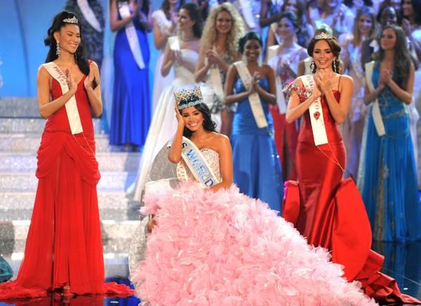 Miss Venezuela sul tetto del mondo 2011 Ivian Sarcos, 22 anni, laureata