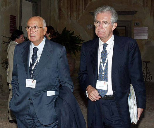 Mario Monti senatore a vita