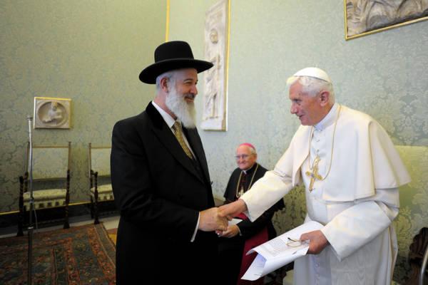 Il Papa riceve il Consiglio israeliano delle religioni