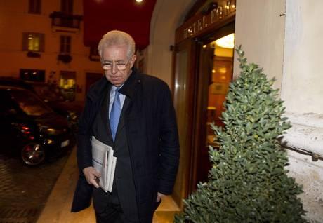 Per Monti mix tecnici-politici, poche poltrone