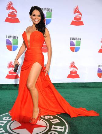 Sensualita' e fascino ai Latin Grammy Awards