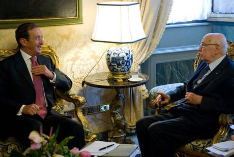 Fini a colloquio con Napolitano