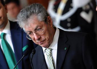 Umberto Bossi al Quirinale