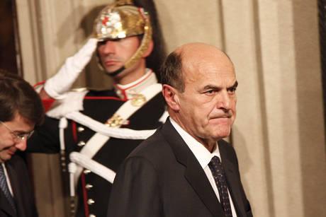 Pier Luigi Bersani al Quirinale
