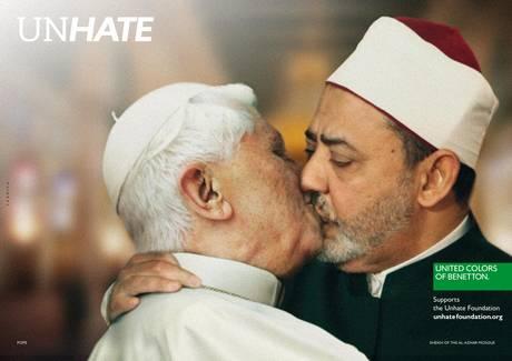 Quando lo spot fa scandalo. Vaticano contro Benetton, azioni legali a difesa immagine Papa