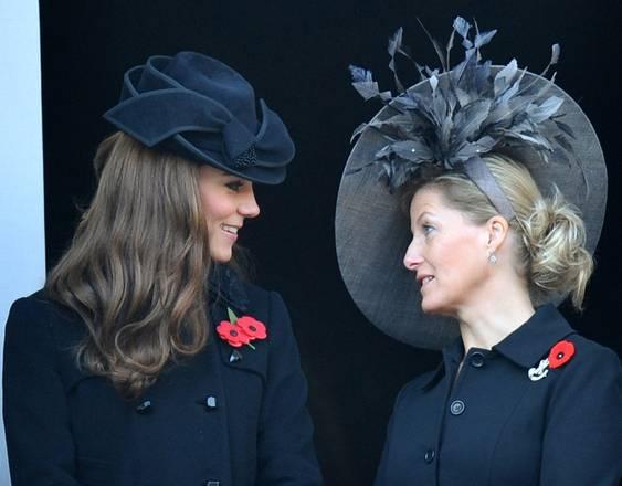 GB, cappellini reali a Londra: la duchessa e la contessa